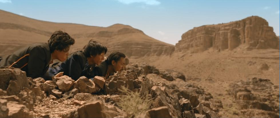 trio Dono Kasino Indro di gurun pasir