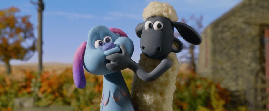 Shaun dan Lu-La di peternakan