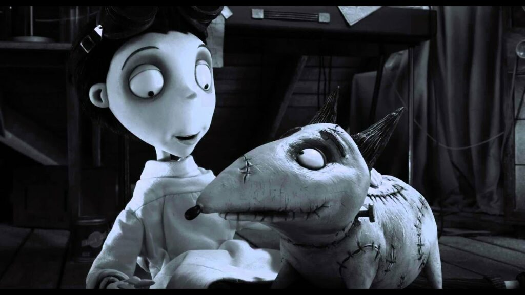 Frankenweenie film horor Disney