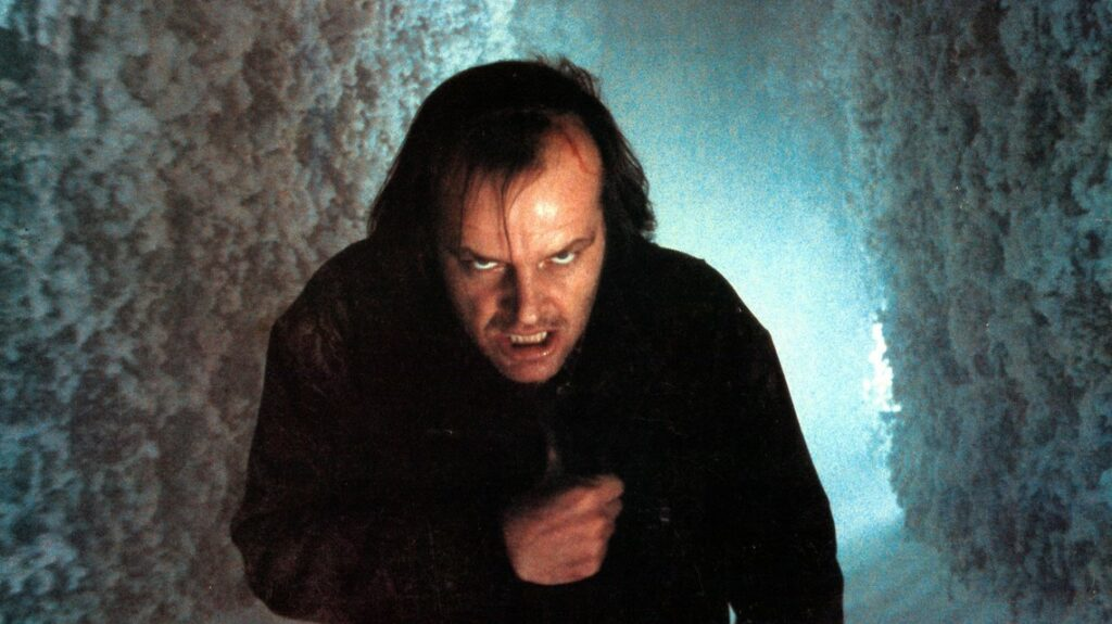 Jack Nicholson dalam film The Shining