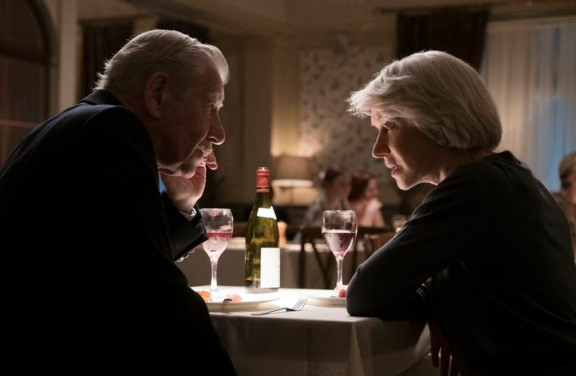 hellen mirren dan ian mckellen dalam film the good liar
