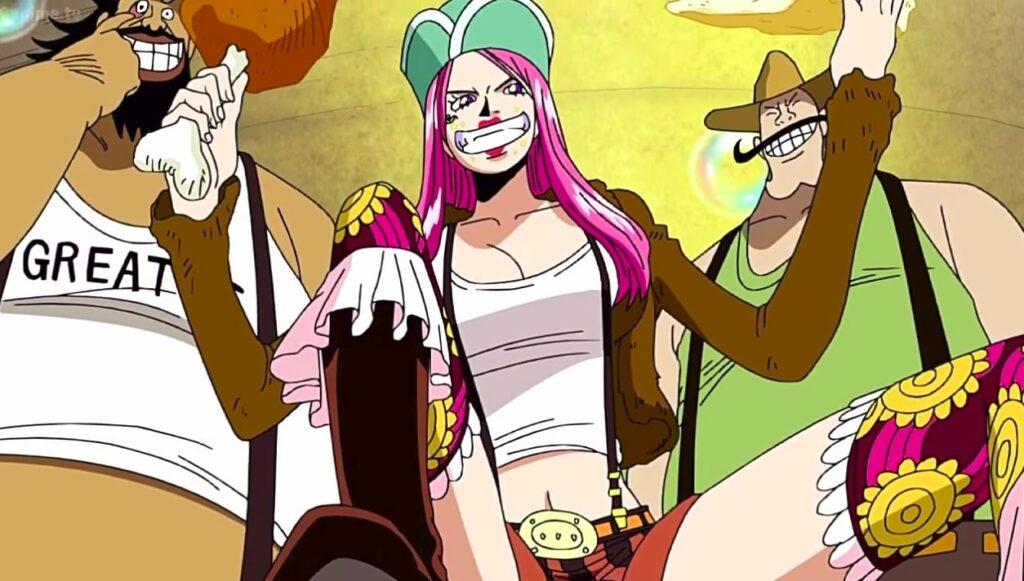 Jewelry Bonney karakter One Piece