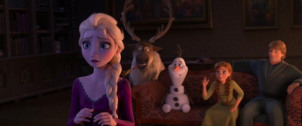Anna, Elsa, Olaf, dan Kristoff dalam film Frozen 2 review bahasa indonesia