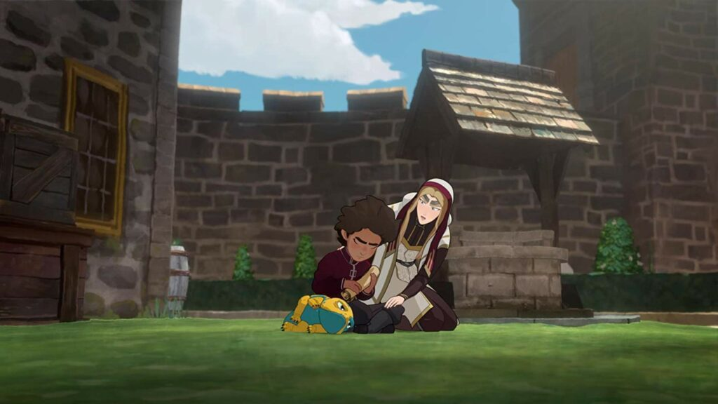 Ezran di serial The Dragon Prince