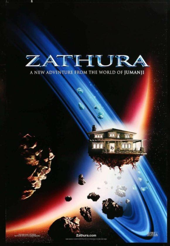 poster film Zathura, sekuel Jumanji orisinil
