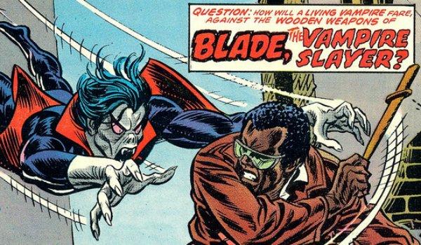 Morbius bertemu Blade