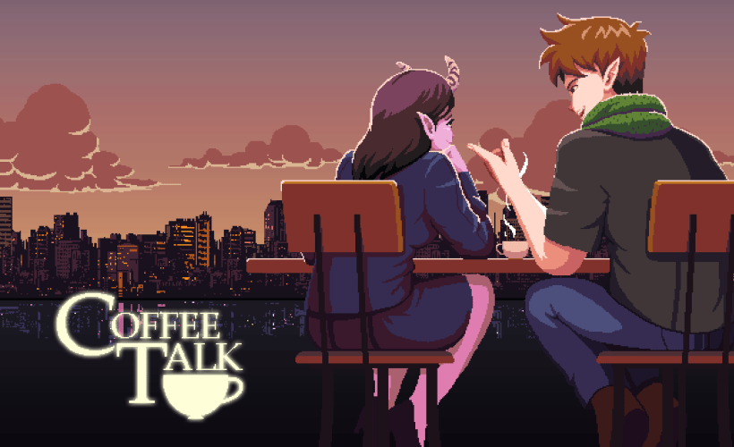 cover game Coffee Talk