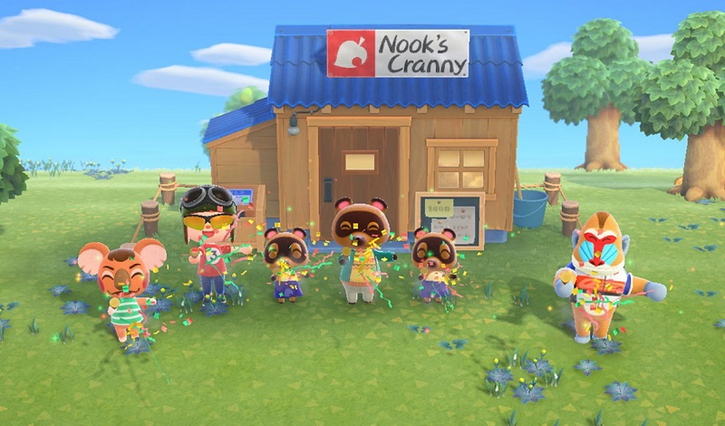 apa itu Animal Crossing: New Horizons