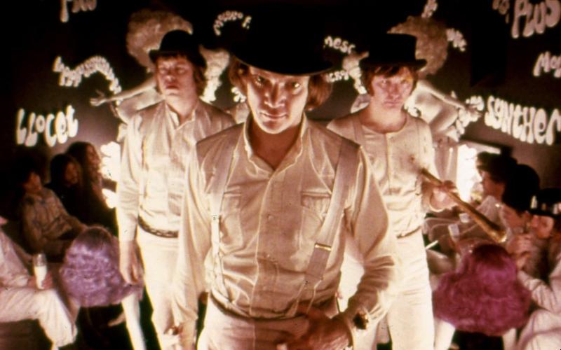 A Clockwork Orange rekomendasi film tentang kelas sosial