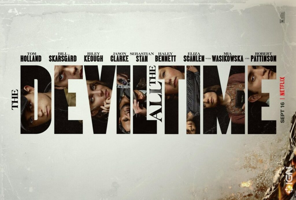 cover film The Devil All the Time Netflix