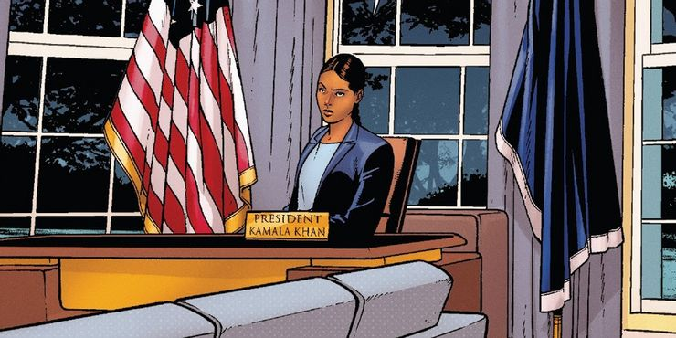 Kamala Khan di Gedung Putih