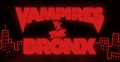 cover film Vampires vs. The Bronx
