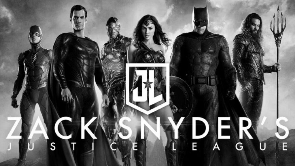 cover Zack Snyder's Justice League