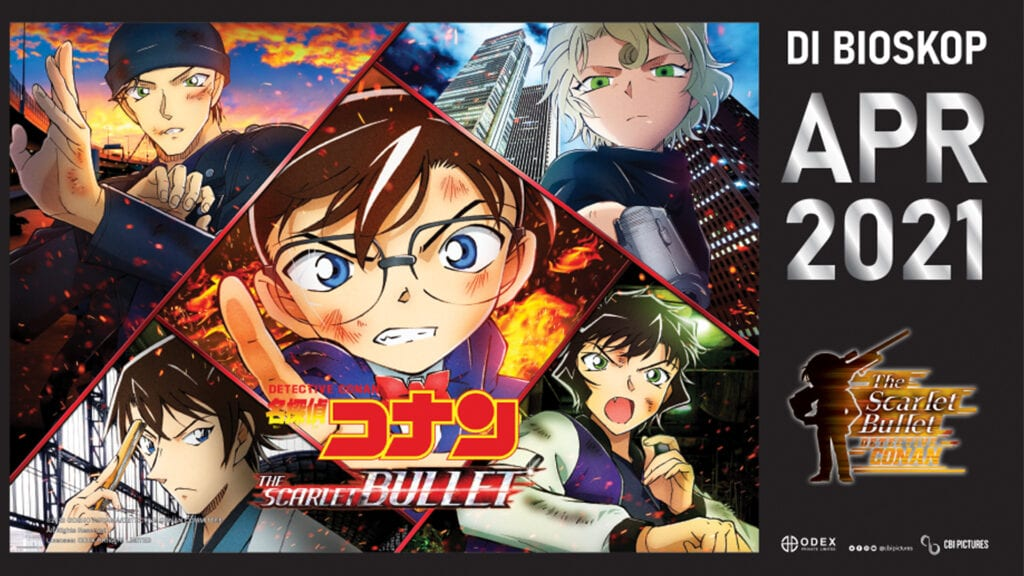 To change your youtube banner, simply: Review Detective Conan The Movie The Scarlet Bullet