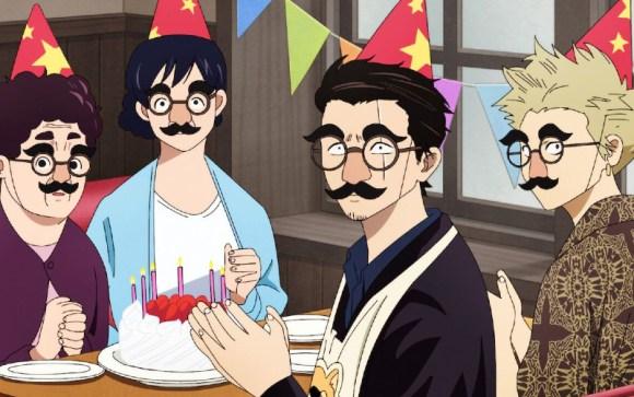 Tatsu merayakan ulang tahun
