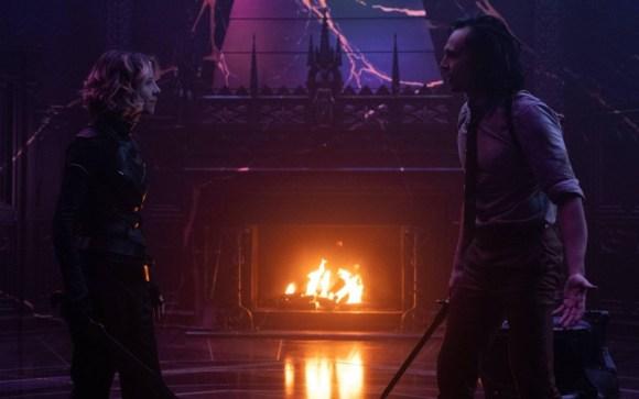 Sylvie dan Loki di ending Loki episode 6