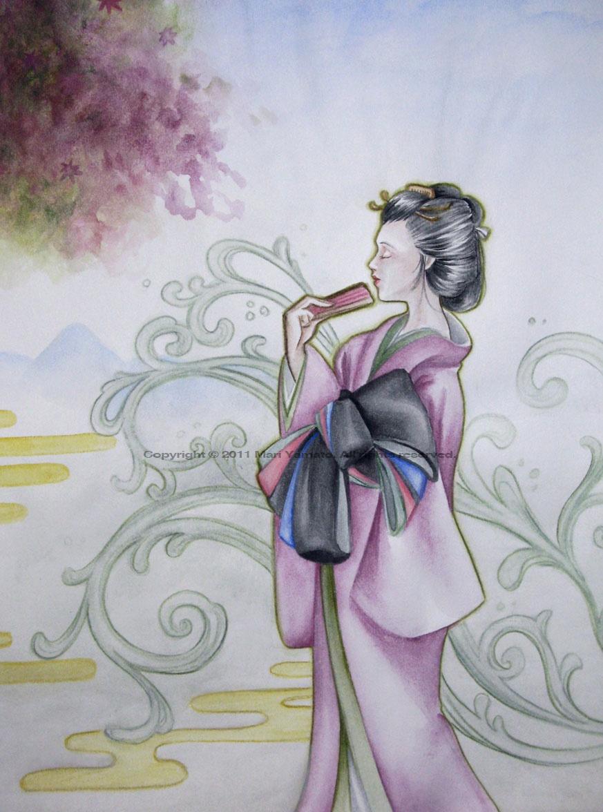 Mari Yamato  An online portfolio  whimsical