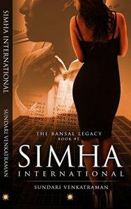 Book Review - Simha International by Sundari Venkatraman, www.mariyamhasnain.com