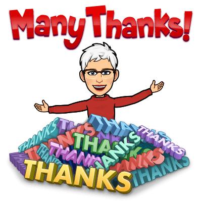bedankt hoor! zegt Marja