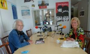 20 augustus 2011 bij radio Zilverstad