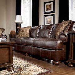 Discount Leather Sofas Teak Sofa Outdoor Axiom-walnut All 4200038 | Marjen Of Chicago ...