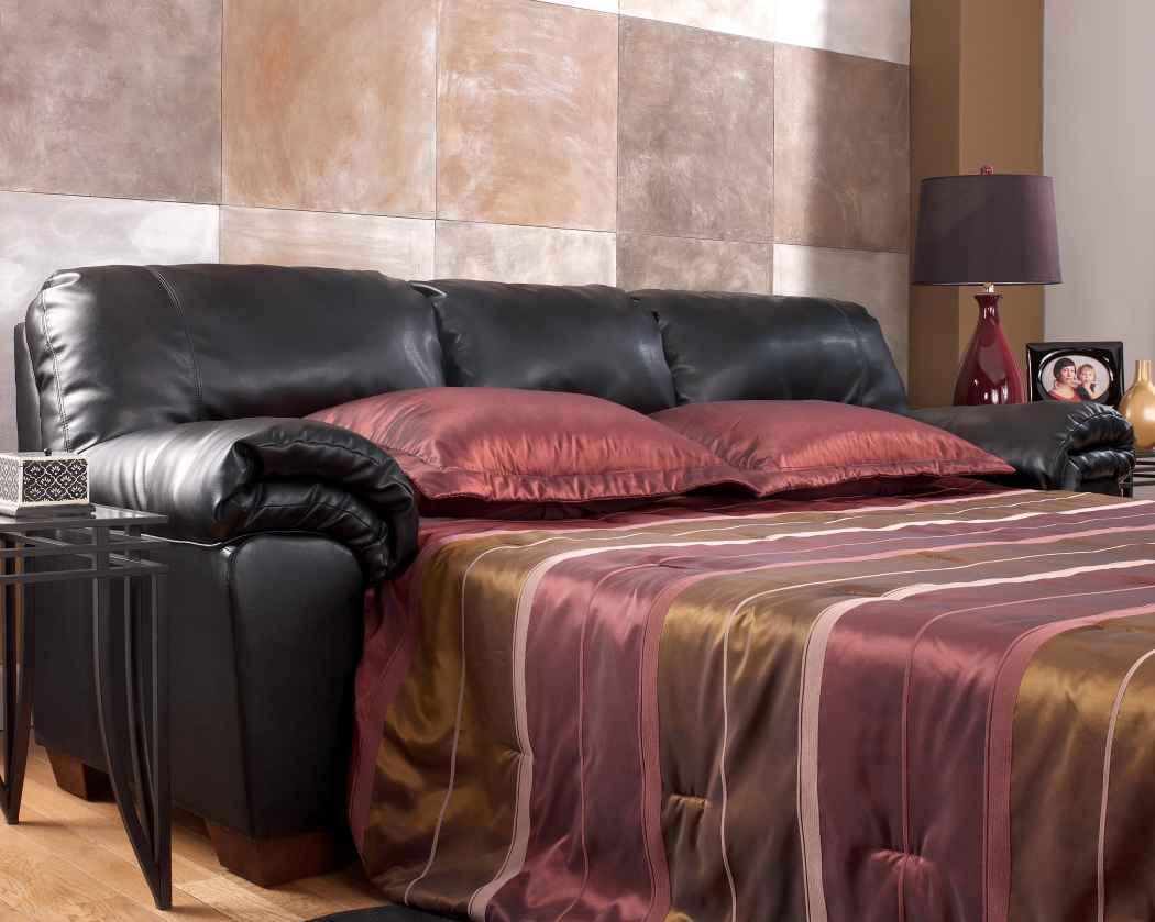 ashley furniture commando black sofa sectional sleeper ikea living room set marjen of chicago