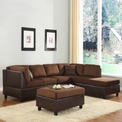 Sofa Sleeper Chicago Nice Vs Nantes Sofascore Home Elegance Chocolate Microfiber Sectional ...