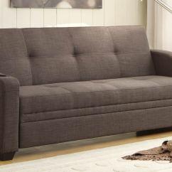 Chicago Sofa Bed Large Dog Canada Homelegance Caffrey Elegant Lounger Dark Grey