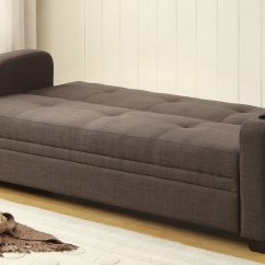 Chicago Sofa Bed Modern Seattle Homelegance Caffrey Elegant Lounger Dark Grey