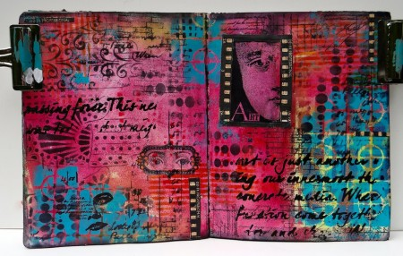 Art Journaling without a Sentiment (Marjie Kemper)