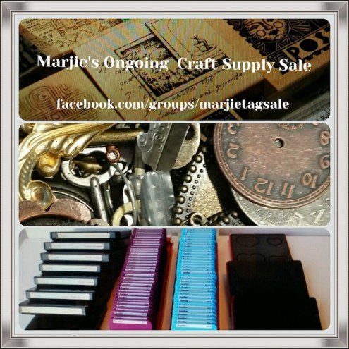Marjie's Ongling Online Craft Supply Sale