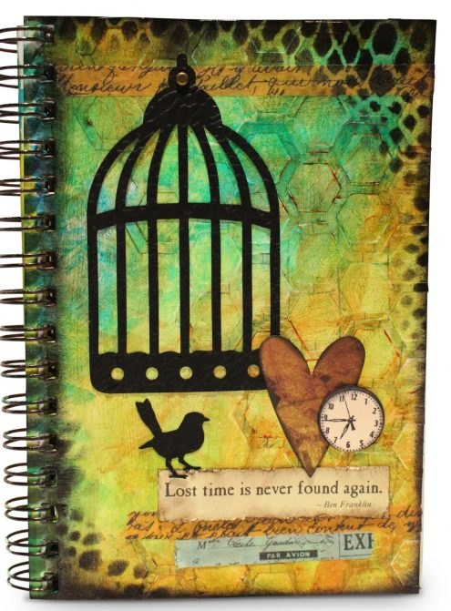 How To Use Die Cuts : Journal, Video, Diecuts,, Stamps,, Stencils, Washi