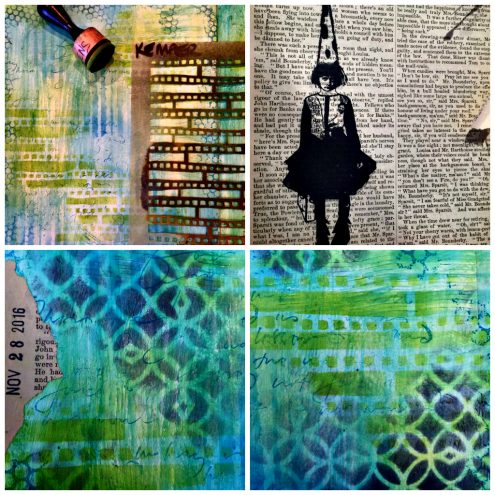 Art Journaling between the lines (Marjie Kemper)