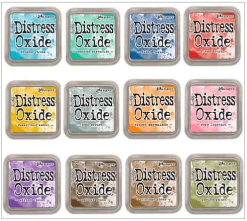 New product released at Creativation 2017 - Tim Holtz Distress Oxide Ink Pads