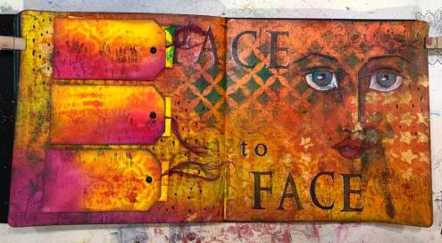 Art Journal by Eve Champagne - Student Work in Wanderlust 2019