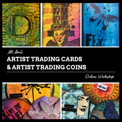 Artist Trading Cards & Artist Trading Coins Workshop with Marjie Kemper
