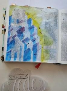 waterverf biblejournaling