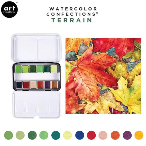 Prima marketing watercolor terrain