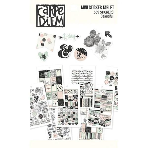 Carpe diem stickerboek beautiful