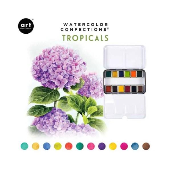 prima marketing watercolor tropicals
