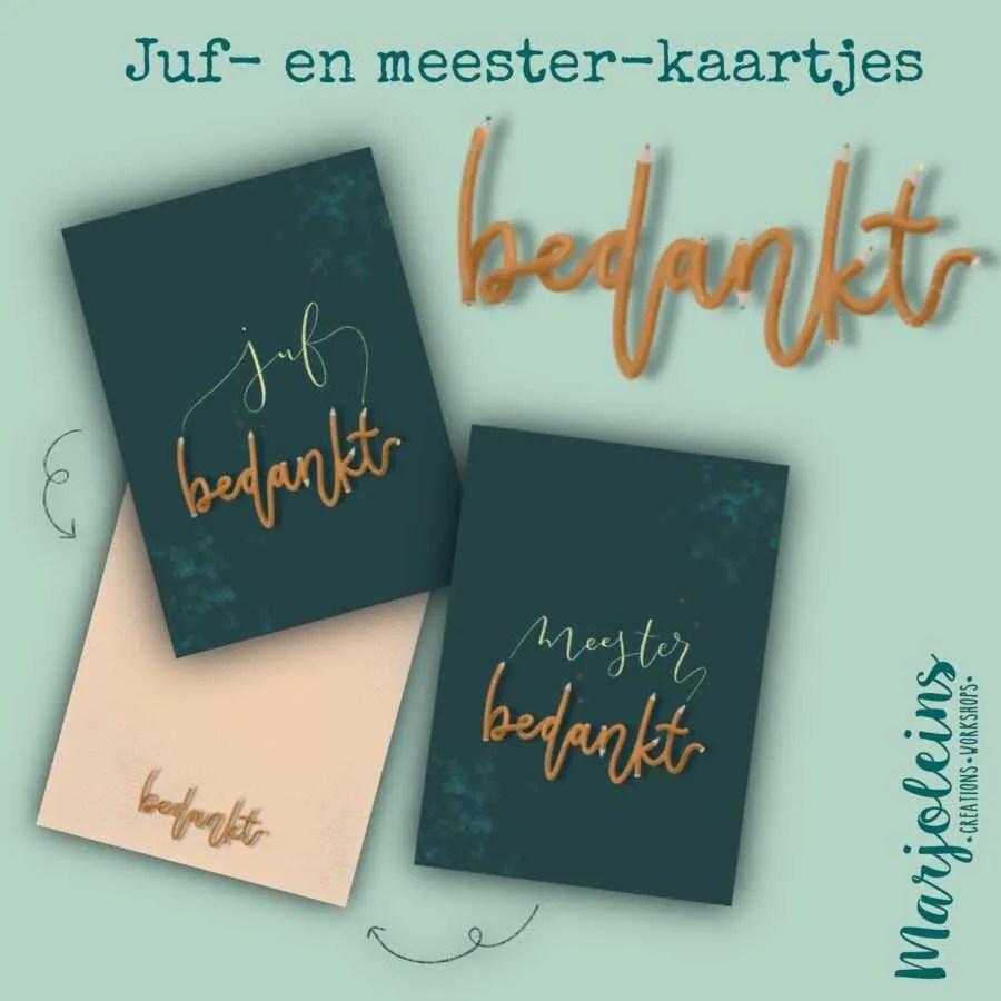 Juf_En_Meester bedankt kaart