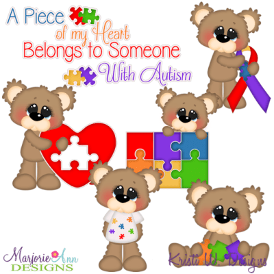 Download I Love Someone With Autism SVG Cutting Files Includes ...