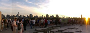 View of New York from the Metropolitan Museum of Modern Art - the last day in NY.