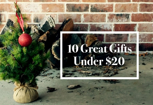 10 Great Gifts Under 20