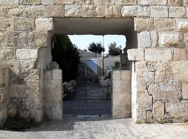 La Neuvième Porte de Jérusalem : la Porte des Tanneurs