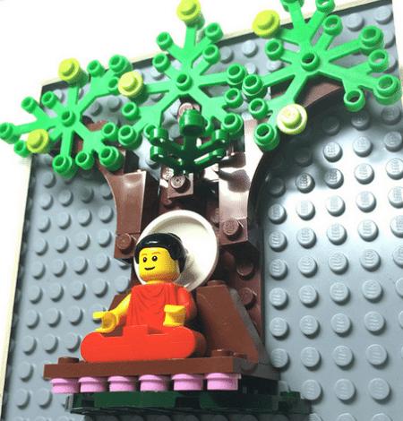 Personnage de roman bouddhiste