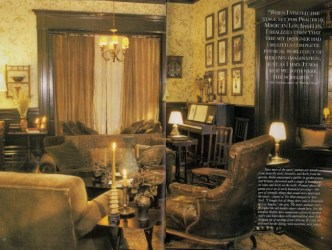 Fit For a Few Witches: The Practical Magic Victorian House Majorie Magazine