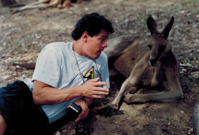 Mike-Negotiating-With-Kangaroo