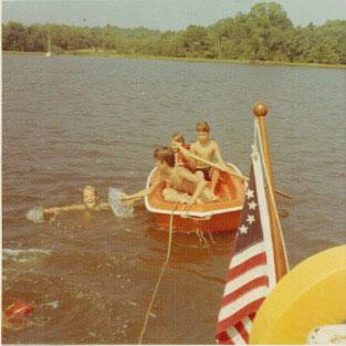 Marjorie-Swimming-Boat