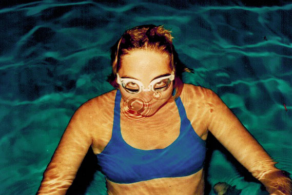 Marjorie Underwater